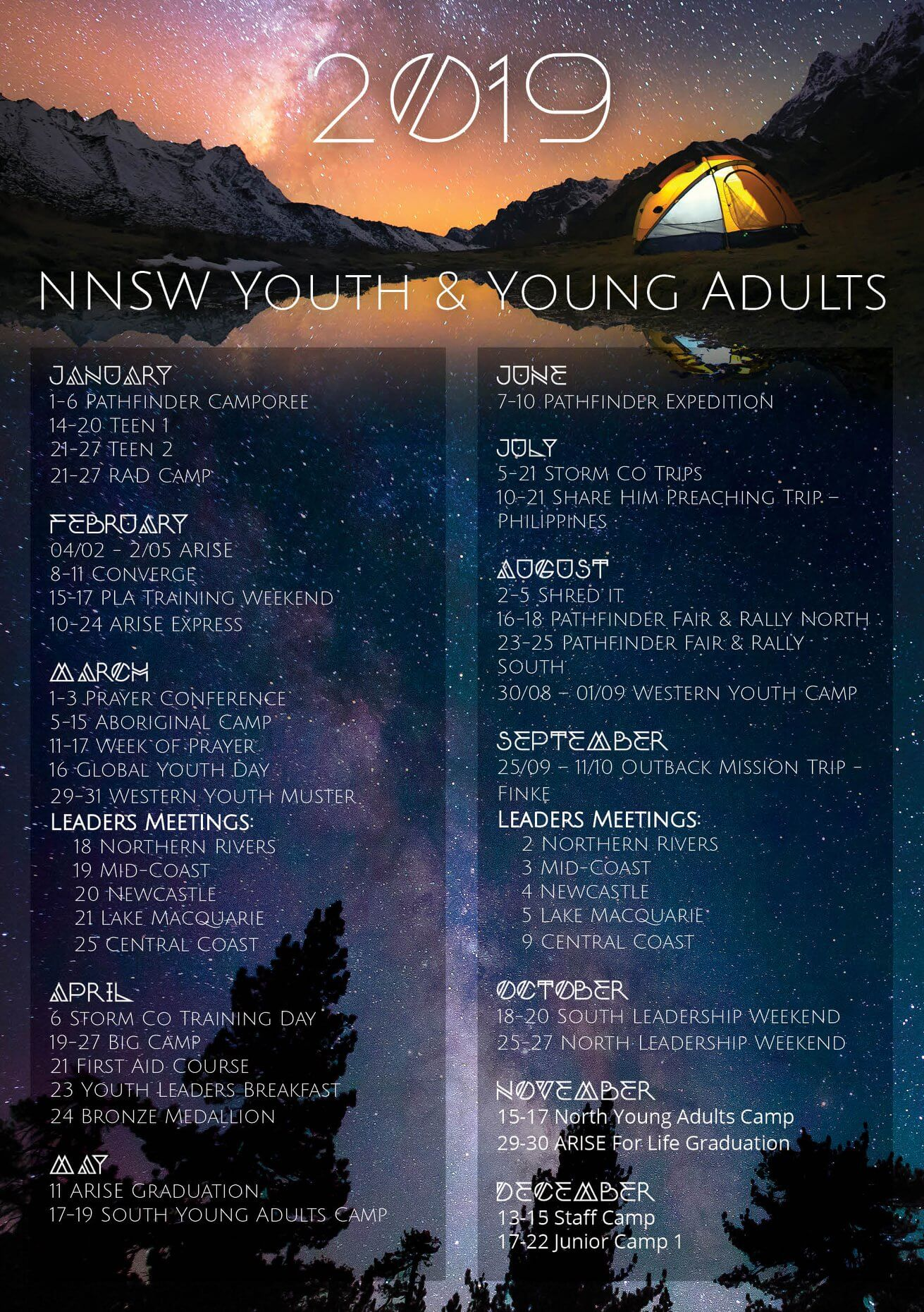 NNSW Pathfinders | Seventh-day Adventist Church NNSW Conference